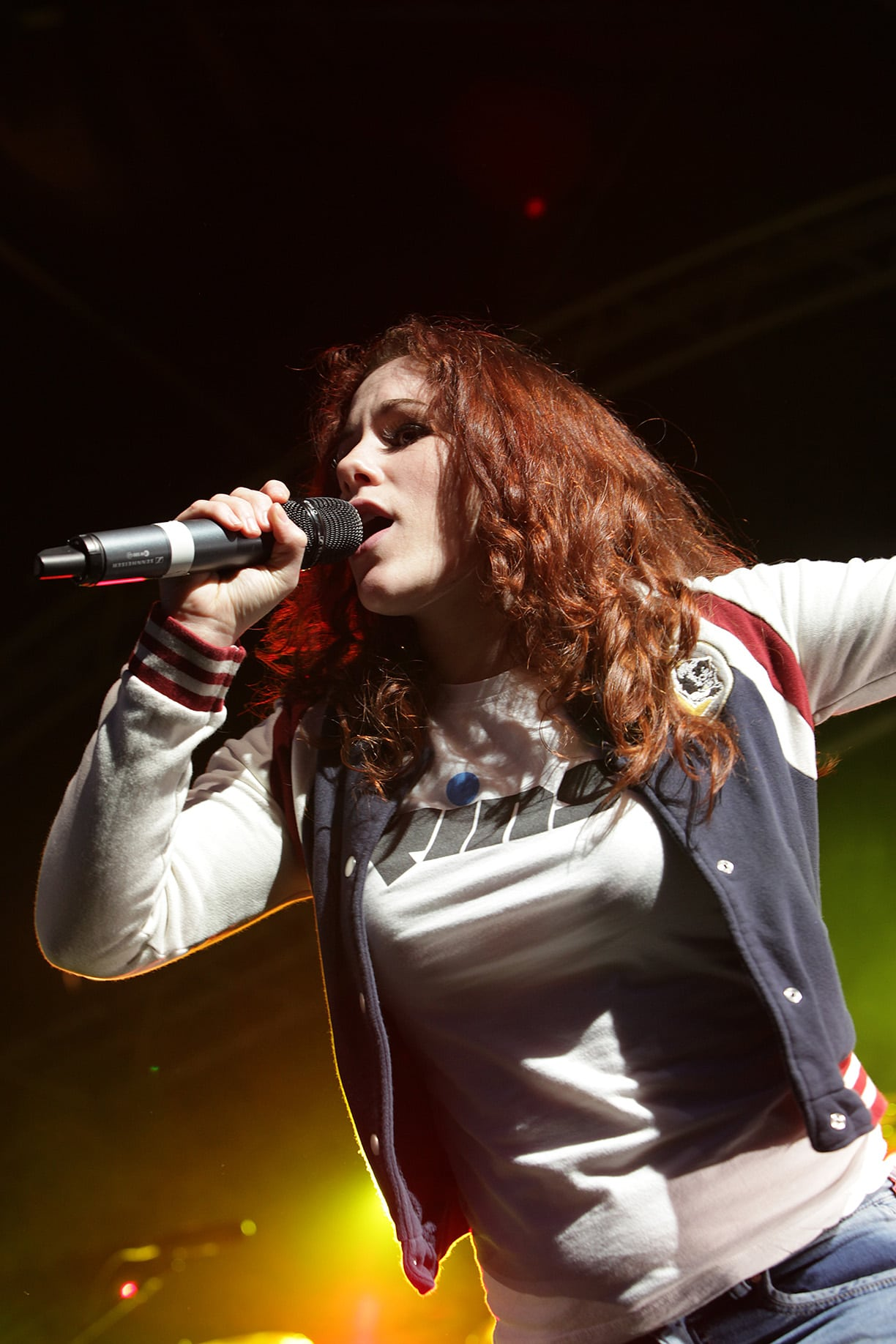 Katy B on the Baltic Stage at Evolution 2011