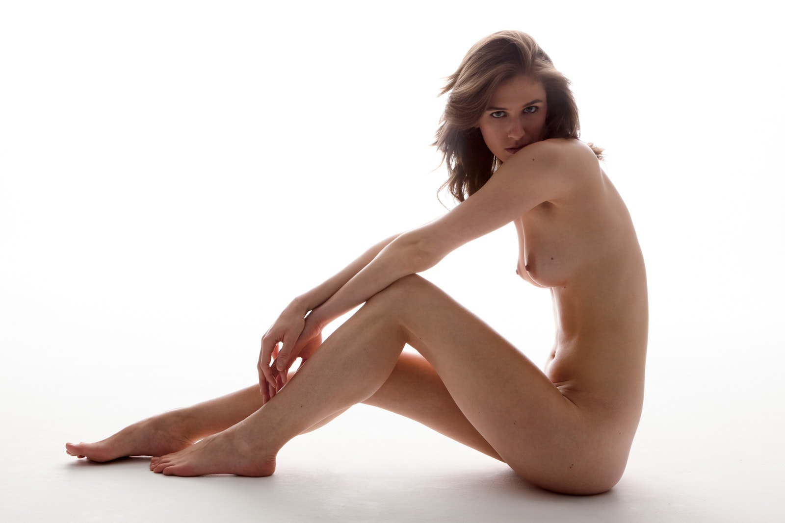 Picture: Grace modeling nude for Subtle Sensor Photography
