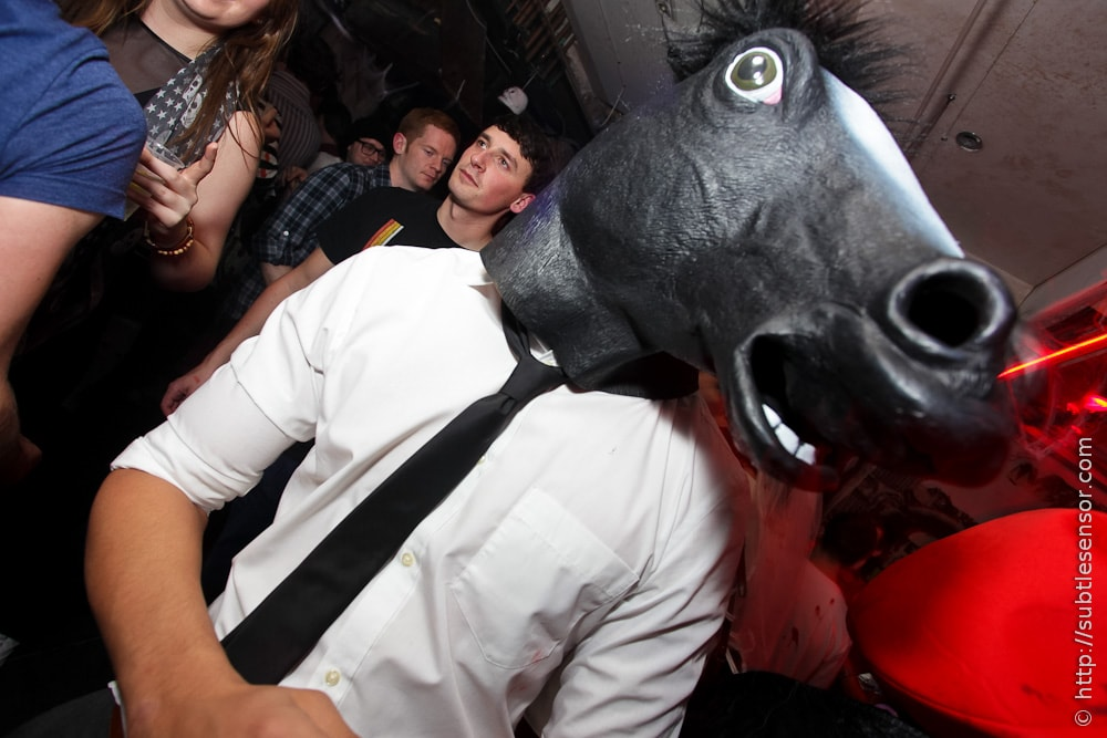Horses Head Halloween costume