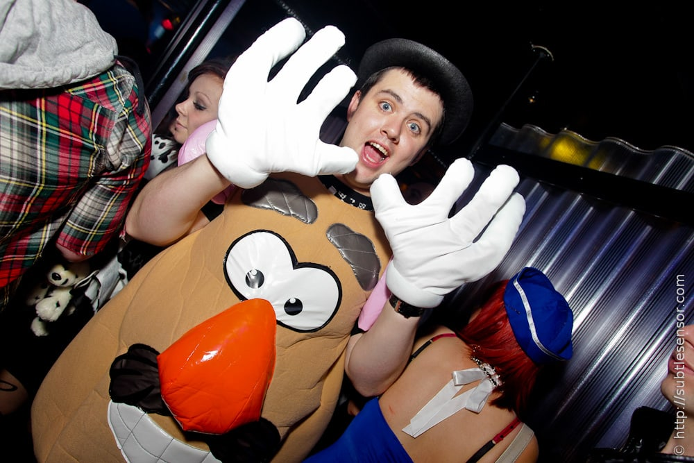 Mr Potato Head fancy dress costume