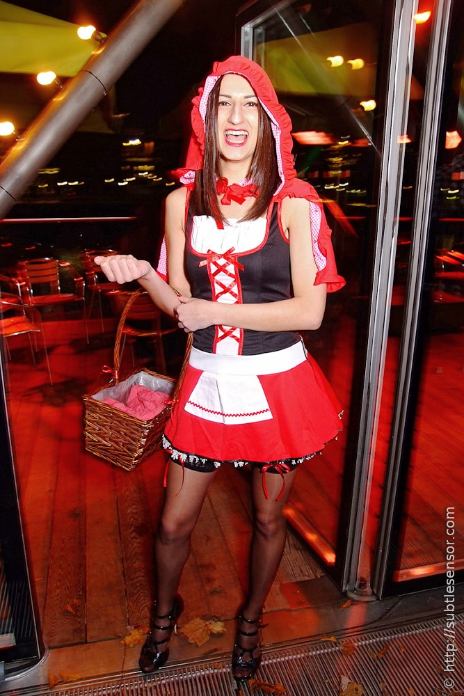 Sexy Little Red Riding Hood fancy dress costume