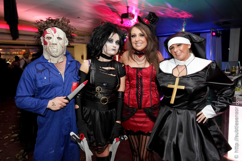 Nun, Edward Scissor Hands, Mike Myers Halloween costumes