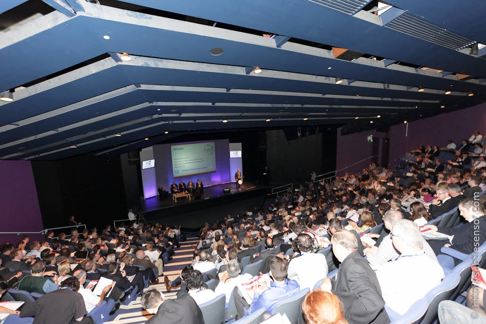 A full house at the UK Space conference