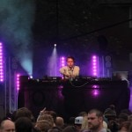 DJ Jackmaster performing at Evolution Festival