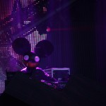 Deadmau5 performing live at Evolution Festival, Newcastle