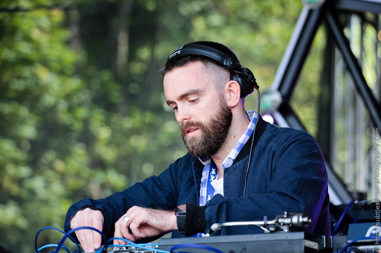 Local Favourites People Get Real DJ at Ballast Hills, day 2 of Evolution Festival