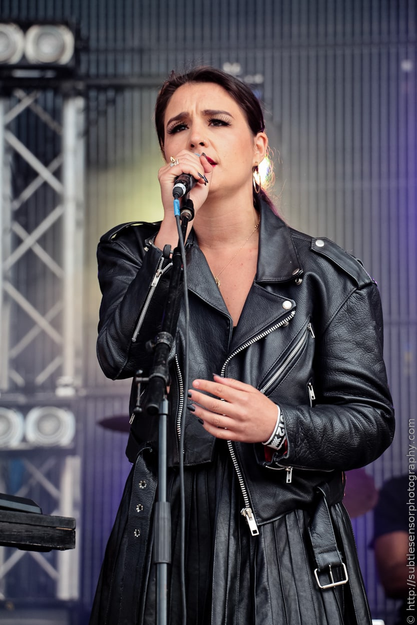 Singer/Songwriter Jessie Ware at Evolution Festival 2012