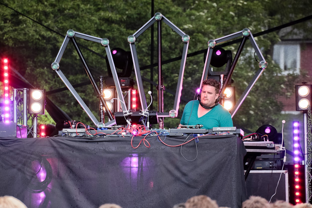 Bristol Based DJ, Eats Everything at Evolution 2012