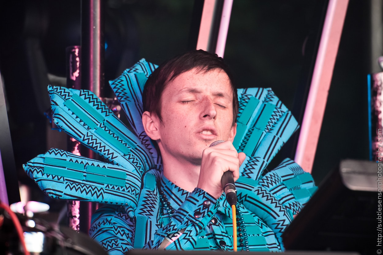 TEED performing at newcastle's Evolution Festival 2012