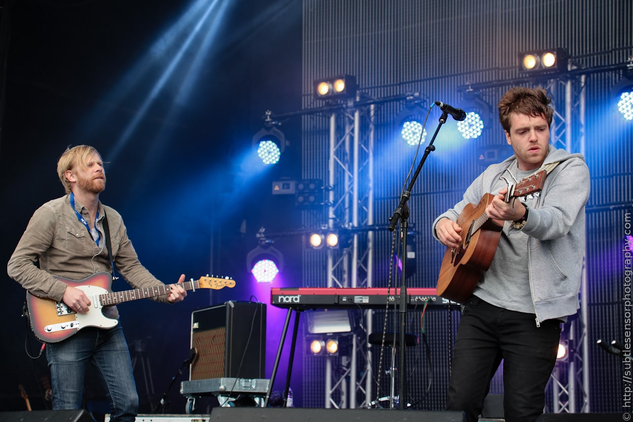 York based singer/songwriter Benjamin Francis Leftwich onstage at Newcastle's Evolution Festival