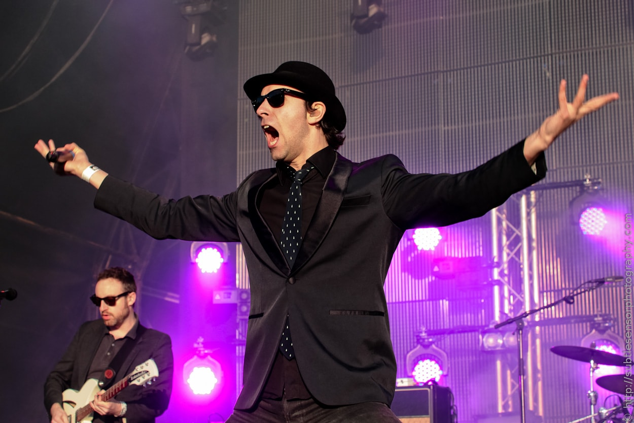 Local Heroes Maximo Park meet audience expectations at Newcastle's Evolution Festival