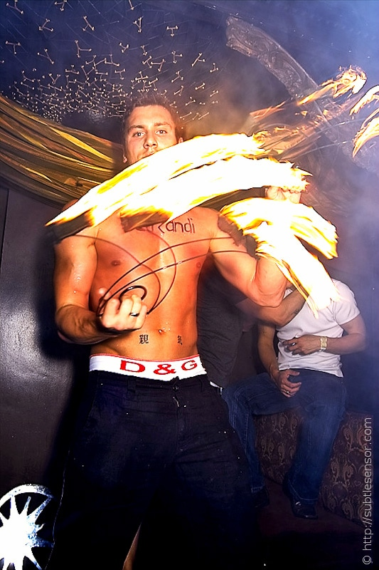 Nightclub Fire Dancer