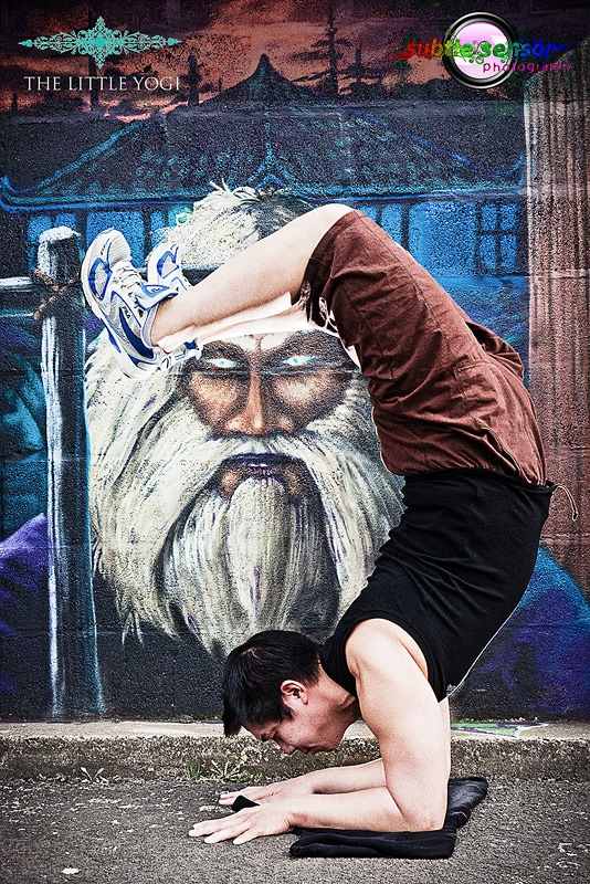 Yoga Graffiti Photographs 001